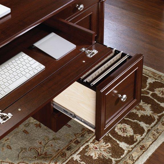 Sauder Palladia Executive Desk Home Furniture Design