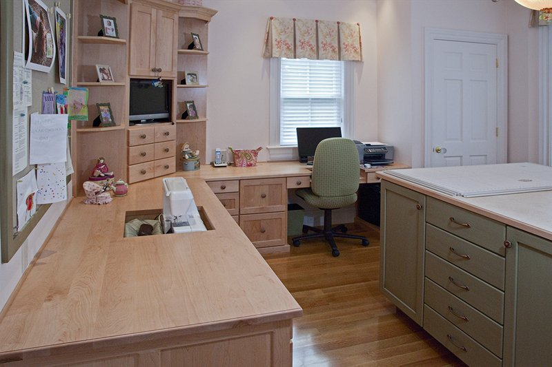 Sewing room cabinets home furniture design Sewing room designs