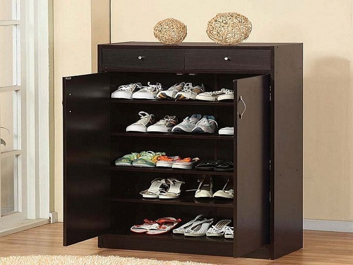 shoe storage cabinet with doors home furniture design