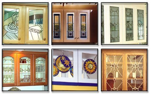 Stained Glass Kitchen Cabinet Doors - Home Furniture Design