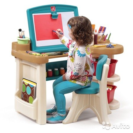 Step2 Deluxe Art Master Desk Home Furniture Design