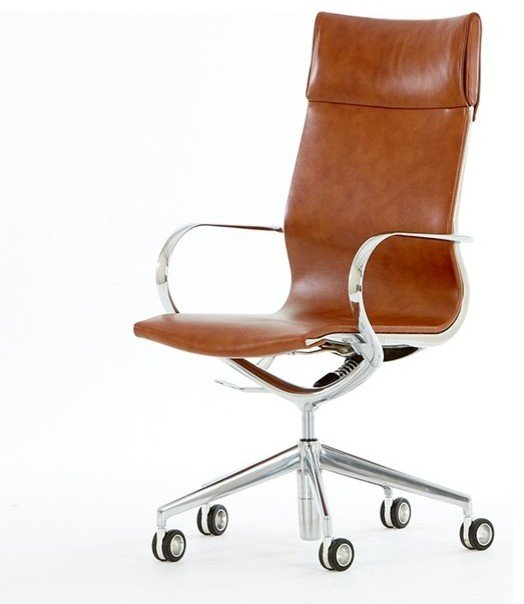 tan leather office chair home furniture design