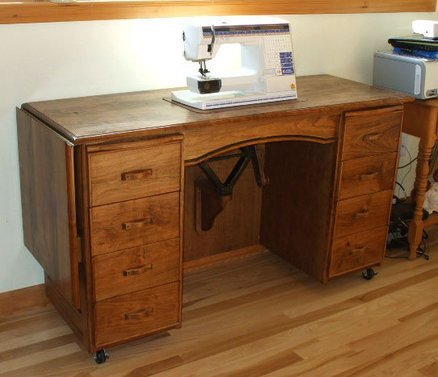 Used Sewing Machine Cabinet - Home Furniture Design