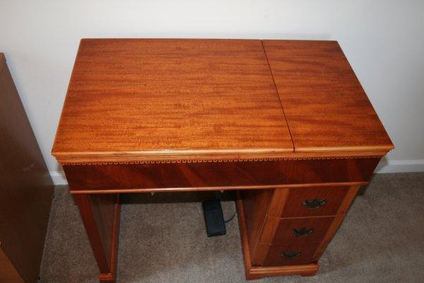 Vintage Sewing Machine Cabinet Home Furniture Design