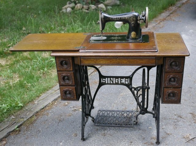 Vintage Singer Sewing Machine Cabinets Home Furniture Design