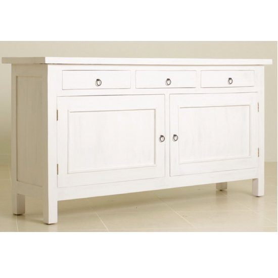 White Buffet Cabinet Home Furniture Design