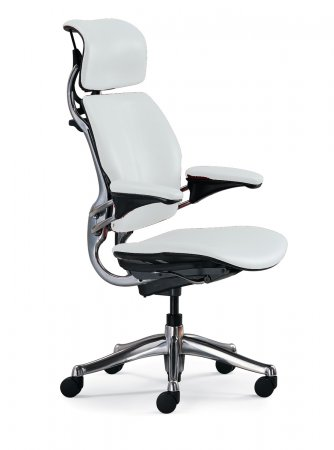 White ergonomic office chair home furniture design for Cute black chairs