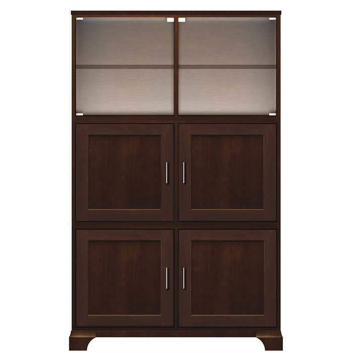 Wood storage cabinet with doors home furniture design