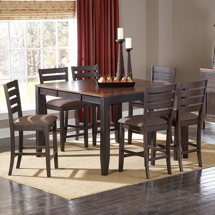 7 piece dining room table sets home furniture design. Black Bedroom Furniture Sets. Home Design Ideas