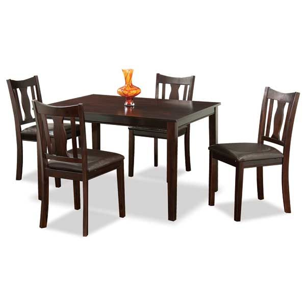 8 pc dining room set home furniture design for Dining room sets for 8