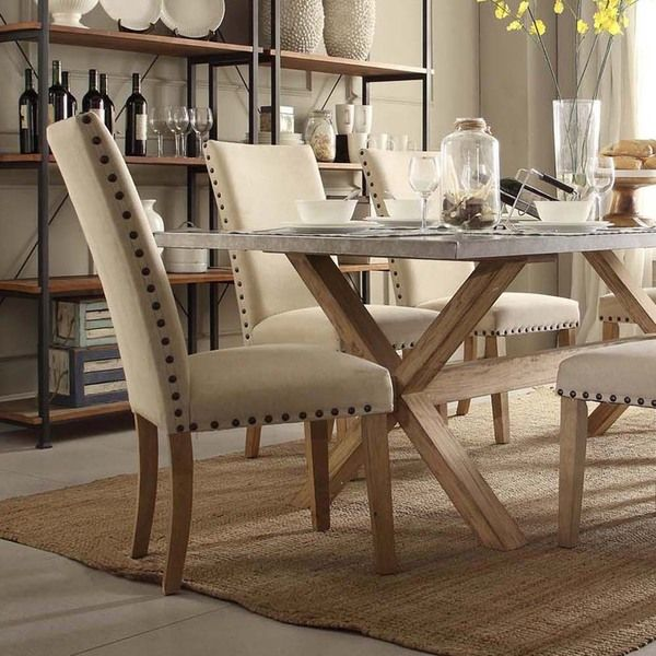 8 piece dining room set home furniture design for Jardin 8 piece dining set