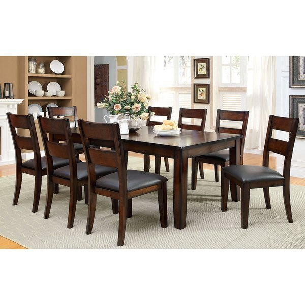 9 Piece Dining Table Set For 8 Dining Room Table With 8: 9 Piece Dining Room Set