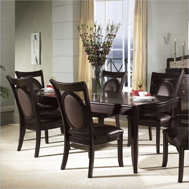 9 piece formal dining room sets home furniture design for Formal dining room sets modern