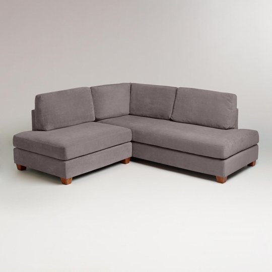 apartment size sectional sofa with chaise home furniture