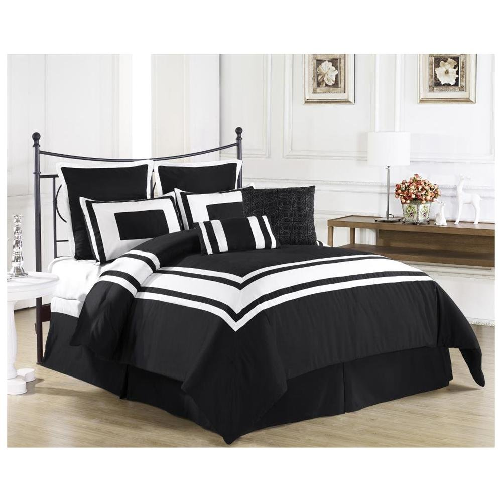 Black And White Bedding Sets Queen Home Furniture Design