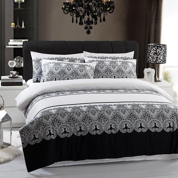 Black And White Duvet Covers Full Home Furniture Design