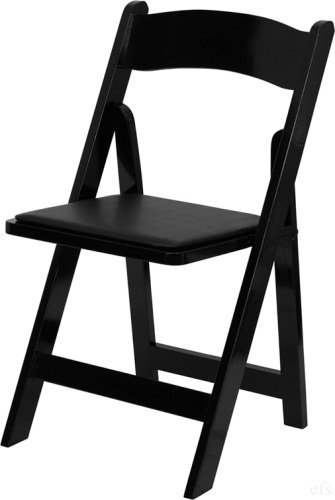 Black Wooden Folding Chairs Home Furniture Design