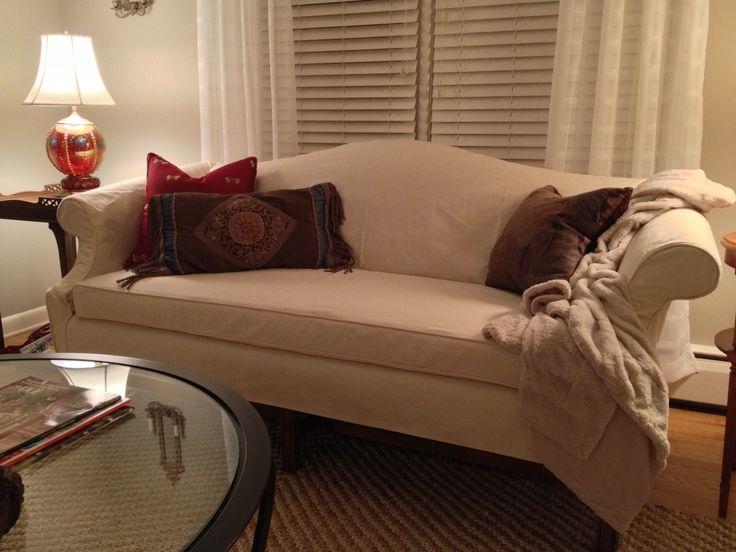 Camelback Sofa Slipcover Home Furniture Design