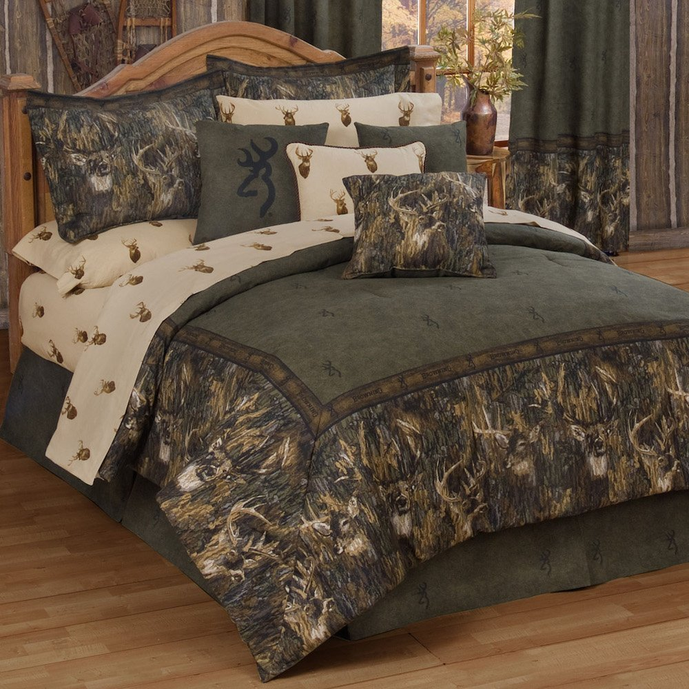 Camo bed set queen home furniture design for Bed set queen furniture