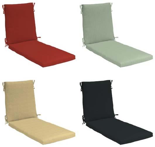 Chaise Lounge Chair Cushions Home Furniture Design