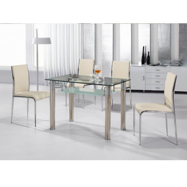 Cheap dining room sets home furniture design for Cheap dining room chairs