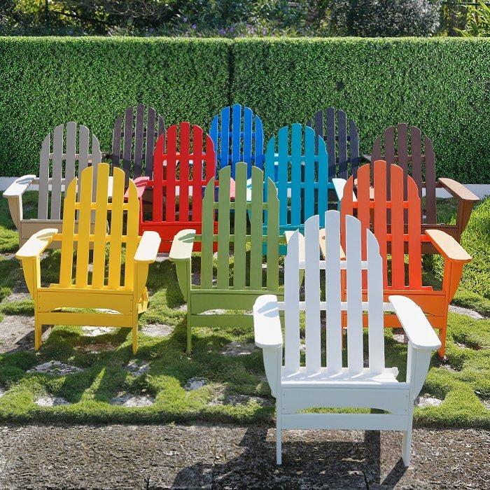 colored plastic adirondack chairs home furniture design