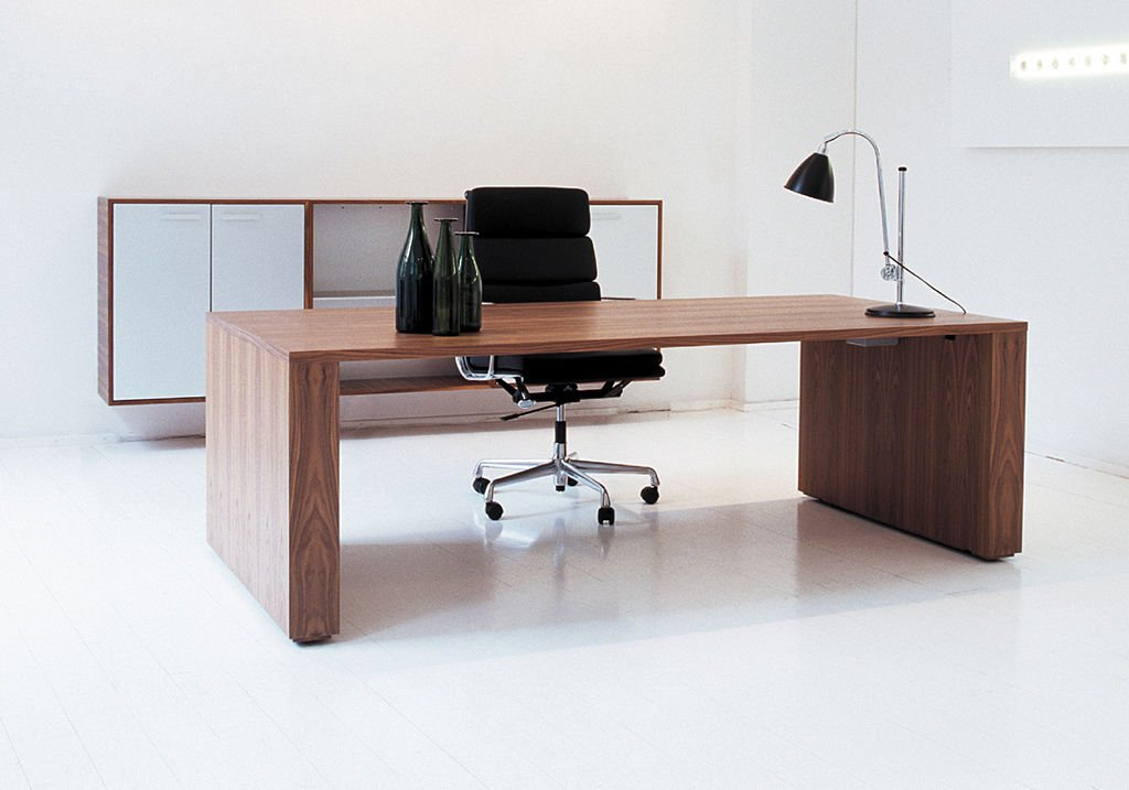 Contemporary executive office desk home furniture design for Contemporary office furniture