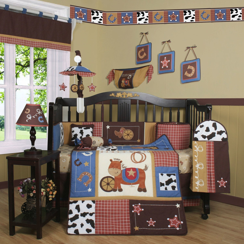 Cowboy Crib Bedding Set Home Furniture Design