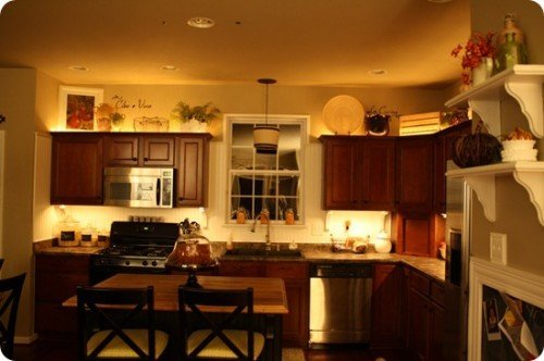 Decorating Ideas For Above Kitchen Cabinets Home Furniture Design