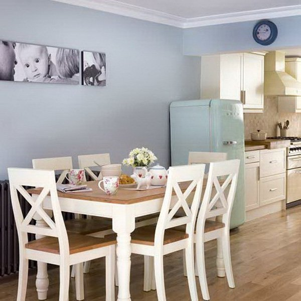 Dining room sets for small spaces home furniture design for Small dining room wall decor ideas