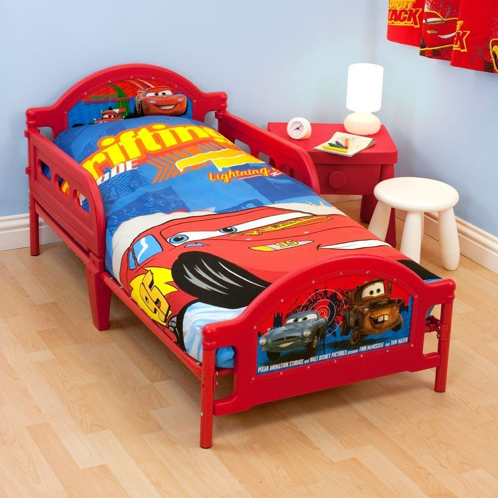 Disney cars twin bedding set home furniture design for Bed and mattress set