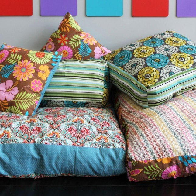 Diy Floor Cushion Home Furniture Design