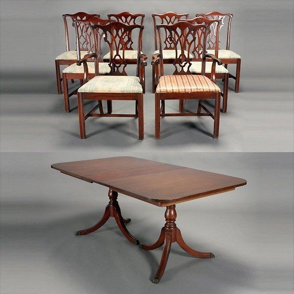 Duncan Phyfe Dining Room Set Home Furniture Design