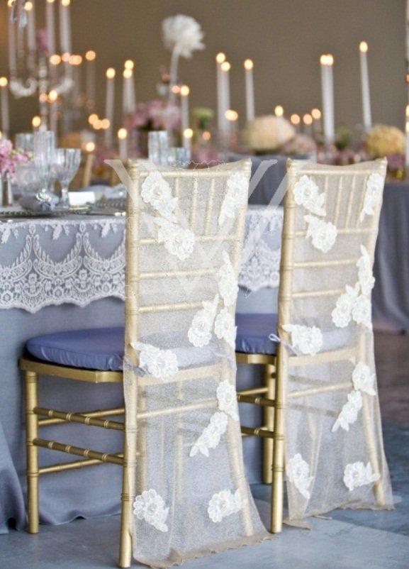 Elegant Wedding Chair Covers Home Furniture Design