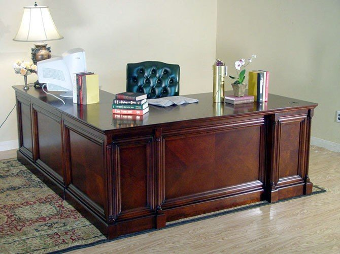 Executive Desk With Return Home Furniture Design