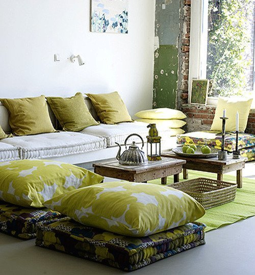 Large Modern Floor Pillows : Extra Large Floor Cushions - Home Furniture Design