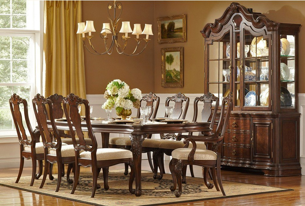Formal dining room sets feel the luxury of dining home for Traditional formal dining room ideas