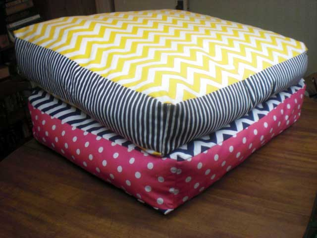How To Make A Giant Floor Pillow : Giant Floor Cushions - Home Furniture Design