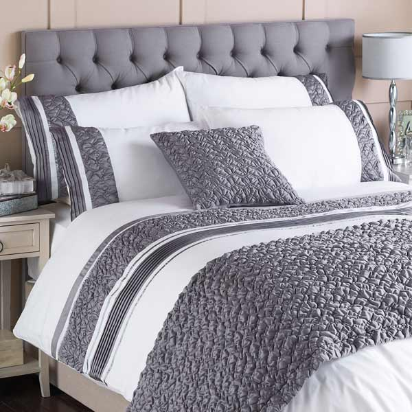 Grey And White Duvet Cover Home Furniture Design