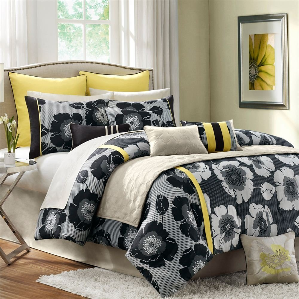 Grey Bedding Sets Queen Home Furniture Design