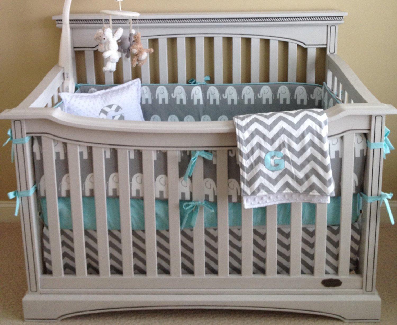 Grey Crib Bedding Sets
