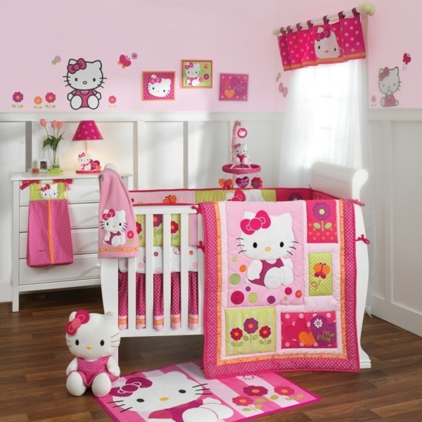 Hello Kitty Baby Bedding Set