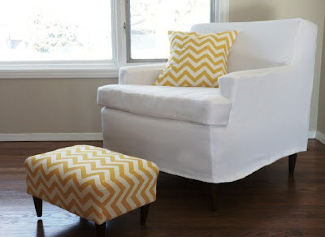 How To Make A Slipcover For A Chair Home Furniture Design