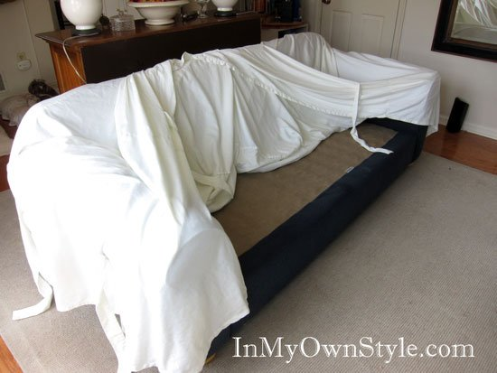 How To Make A Sofa Slipcover Home Furniture Design