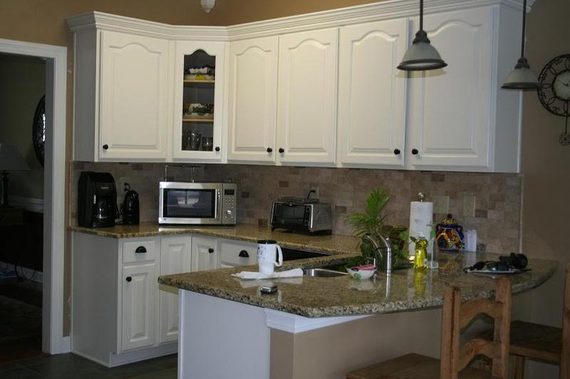 How to paint oak kitchen cabinets home furniture design - How to glaze kitchen cabinets that are painted ...