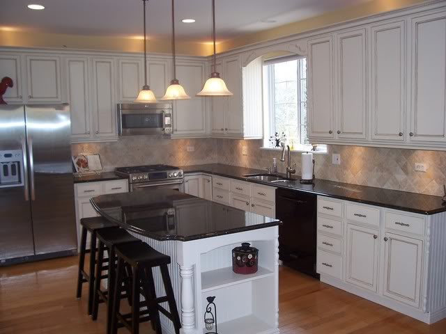 how to modernize kitchen cabinets