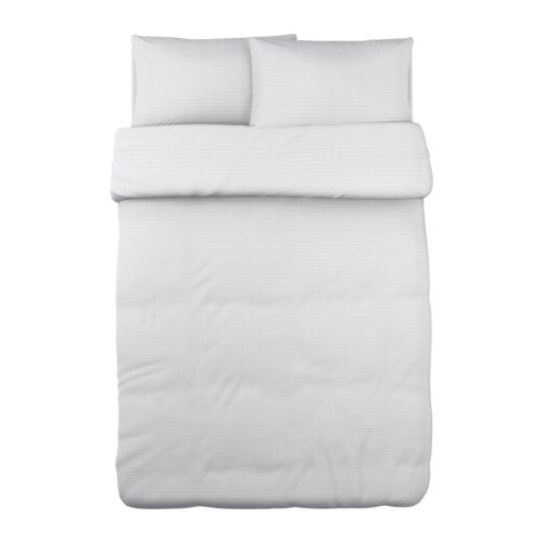 Ikea white duvet cover home furniture design for Ikea bed covers sets queen