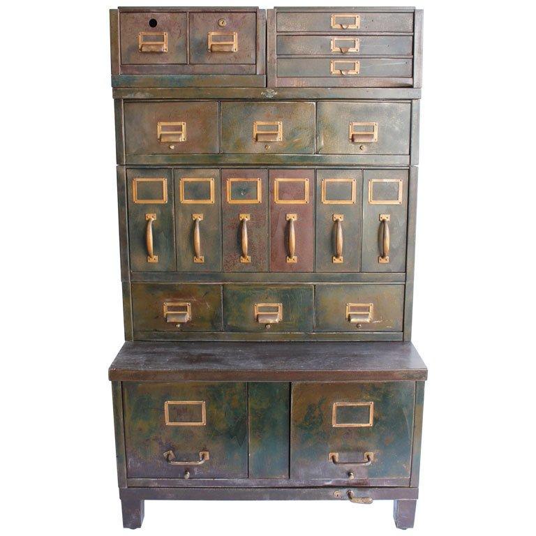 Industrial Metal Cabinet Home Furniture Design