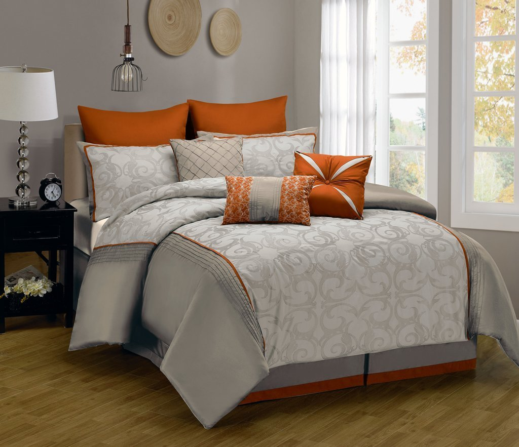 King bedding sets the bigger much better home furniture for Bed sets with mattress