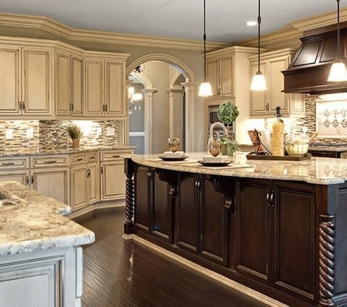 Kitchen Cabinet Stain Ideas: Kitchen Cabinet Color Ideas